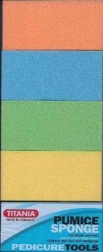 Titania Pumice Sponge (Pack of (Titania Foot)