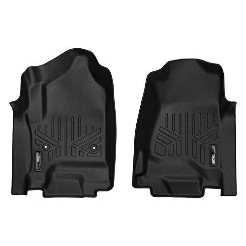 - MAX LINER A0136-P Black Floor Mats Liner Set for 2014-2018 Silverado/Sierra 1500-2015-2019 2500/3500 HD/Tahoe/Yukon/Suburban/Escalade