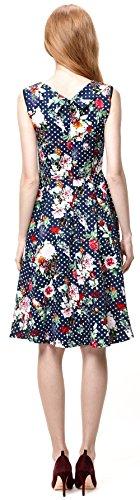 U-shot donna Vintage floreale rockabilly Pinup Tea Cocktail Prom dress