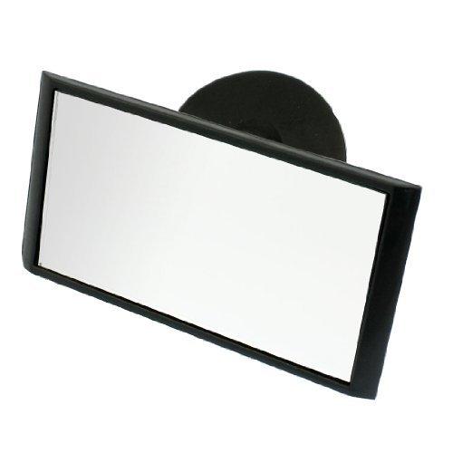 R SODIAL Retrovisione dellautomobile ventoaa interni istruttore di guida specchio nero