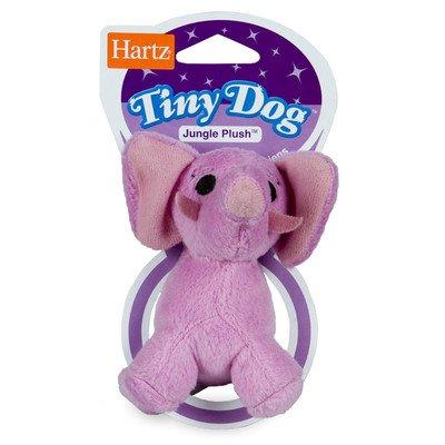 Jungle Plush Tiny Dog Toy (Assorted Style) [Set of (Hartz Tiny Dog)