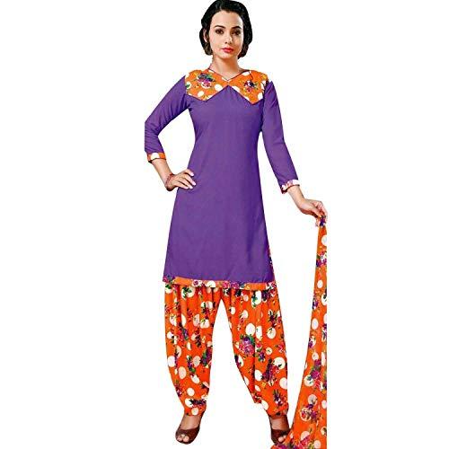 Designer Readymade Faux Crepe Printed Salwar Kameez Suit Indian