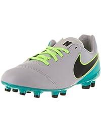 3dd8e2e6081 Kids Tiempo Legend VI FG Wolf Grey Black Clear Jade Shoes · Nike