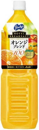 アサヒ飲料 ホテルブレックファーストオレンジ 1.5L 4本