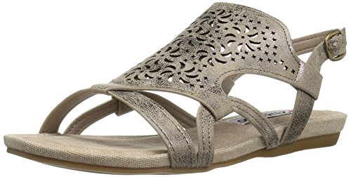 2 Lips Too Women Cassie Dress Sandal Bronze