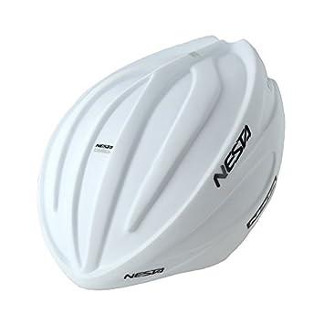 Nesta Fabel Aero Carcasa para Casco de Ciclismo, Unisex Adulto, Blanco Mate, Talla
