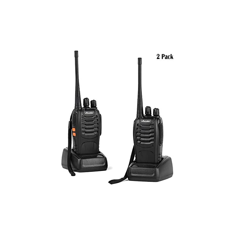 Ansoko Rechargable Walkie Talkies Long R