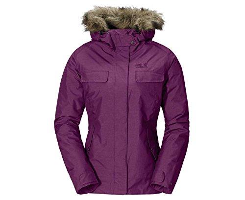 Jacket Cypress Purple Women's Wolfskin Mountain Jack BqxafROBw
