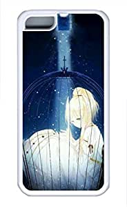 iPhone 5c case, Cute Girls In Cage iPhone 5c Cover, iPhone 5c Cases, Soft Whtie iPhone 5c Covers