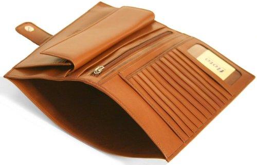 Firenze Leather Document Folder Color: Black by Floto Imports (Image #4)