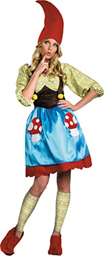 Gnome Adult Costumes Ms (Ms. Gnome Costume - Medium - Dress Size)