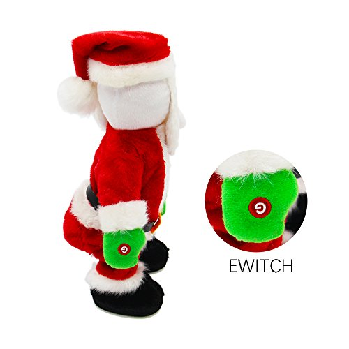 Electric Santa Claus-Singing and Twerking,Best Christmas Gift for Kids or House Decoration. Photo #4
