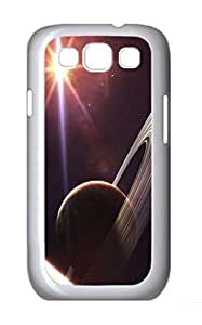 Universe Planet 43 Polycarbonate Hard Case Cover for Samsung Galaxy S3 I9300¨C White