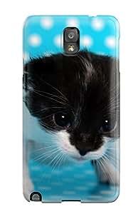 New Design Shatterproof Case For Galaxy Note 3 (kitten Trying To Walk) 9916332K19793939