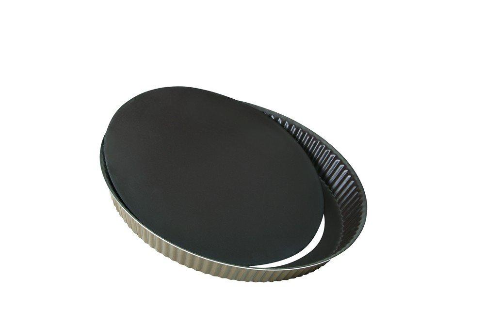 Grilo 455,201 mil Molde Pastel Estriado con Base Desmontable de 28 cm