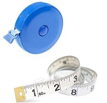 Details about  /Auto Tape Measure Retractable Dress Makers 60 Inch 150cm Measure Tools PT