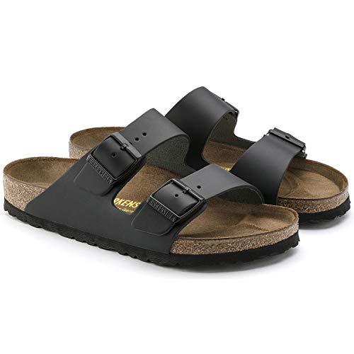 Birkenstock Arizona Unisex Black Birko-Flor Sandal 45 / Men's US Size 12-12.5
