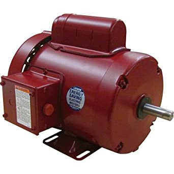 1/2 hp 1725rpm 56 frame tefc (farm duty) 115/208-230 volts leeson electric  motor # 110086: electric fan motors: amazon com: industrial & scientific