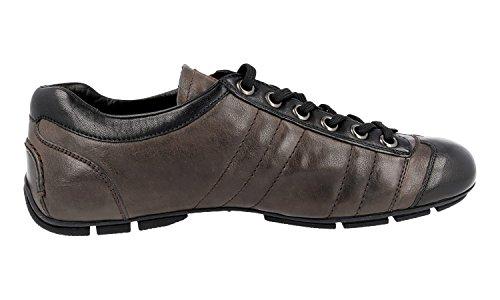 Sneaker In Pelle Prada Mens 4e2246 Lo0 F0h49