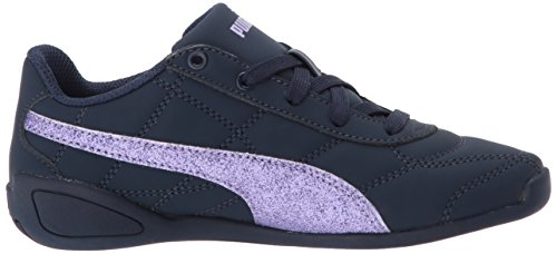 PUMA Girls' Tune Cat 3 Glam Sneaker, Peacoat-Purple Rose, 3.5 M US Big Kid by PUMA (Image #7)