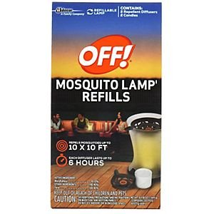 - Off Mosquito Lamp Refill, 0.58 Ounce - 8 per case.