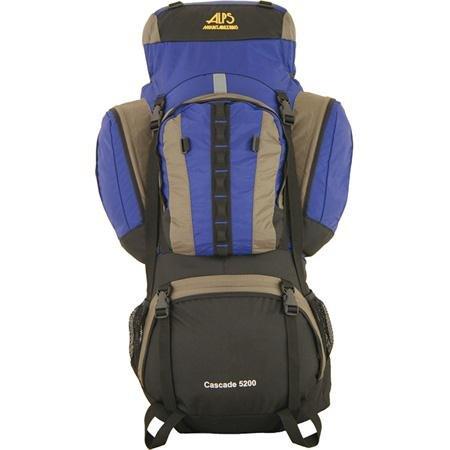 ALPS Mountaineering Cascade 5200 Backpack – Blue, Outdoor Stuffs