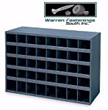 40 Hole Storage Bin / Cabinet For Nuts , Bolts And Fasteners