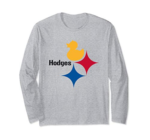 Duck Hodges Dynasty Logo Tee for Pittsburgh Football Fans Long Sleeve T-Shirt