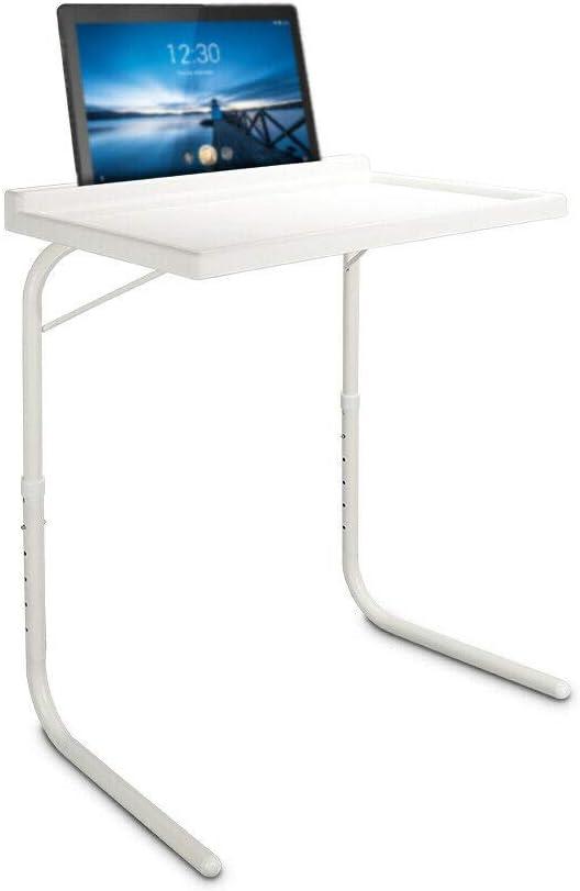 HANKING PLANET Mesa Plegable Auxiliar, Mesa portatil con sujeción para Tablet, Vaso y boligrafo. Mesa