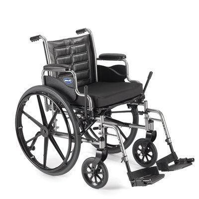 "Invacare LightWeight Tracer EX2 Wheelchair 20"" with SwingawayFootrest- Black (Folding, Assembled)"
