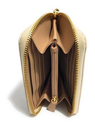 Moschino , Damen Henkeltasche Elfenbein elfenbein
