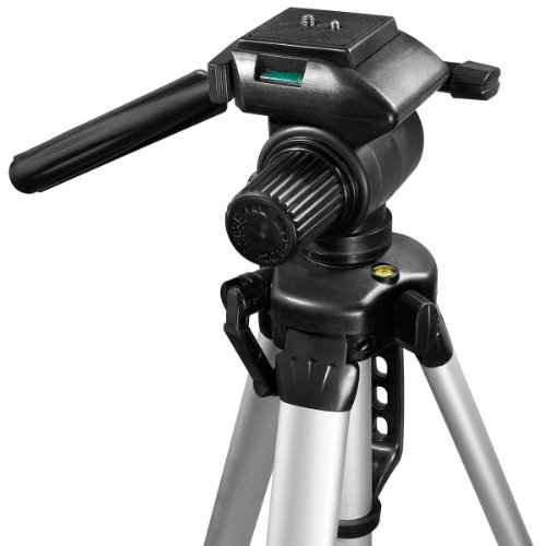 """BARSKA Deluxe Tripod Extendable to 63.4"""" w/ Carrying Case"""