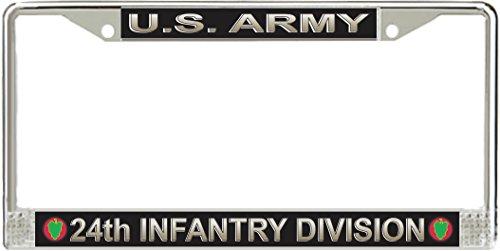 Division License Plate Frame - 8