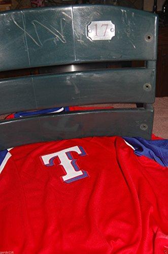 TEXAS RANGERS #17 Seatback Nelson Cruz BALLPARK ARLINGTON Stadium Chair Back