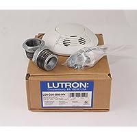 Lutron LOS-CUS-2000-WH Motion Sensor, Ultrasonic Ceiling Mount Sensor, 2000 SQ. Ft.. Coverage - White