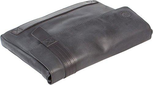 UBERBAG grigio Nero soggetto Uomo Frizione il vera Nero Militare in Nero colore pelle grigio 77rd5Owq