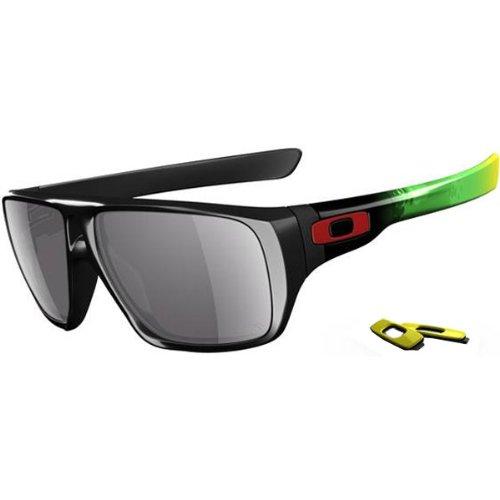 Oakley Jupiter Camo Dispatch Men's Limited Editions Outdoor Sunglasses/Eyewear - Polished Black/Grey