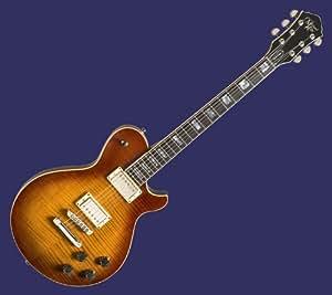 michael kelly patriot vintage electric guitar amber burst musical instruments. Black Bedroom Furniture Sets. Home Design Ideas