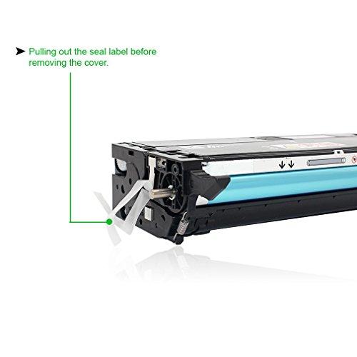 Magenta Toner Refill w Chip for Xerox 113R00724 Phaser 6180 6180DN 6180MFP 6180N