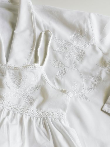The Irish Linen Store Chemise de nuit Millie