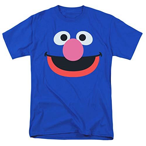Sesame Street Grover Face T Shirt (Medium)