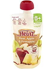 Heinz Pear, Apple and Pineapple Pouch,120g
