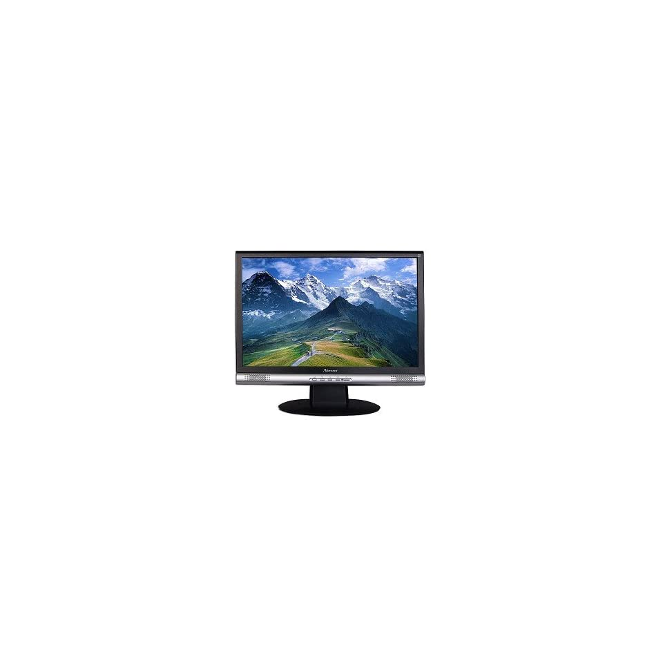 19 Inch Norcent LM 965W Widescreen DVI/VGA LCD Monitor with Speakers