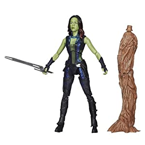 41UC0I %2BXhL. SS300 Marvel Guardians of The Galaxy Gamora Figure, 6-Inch