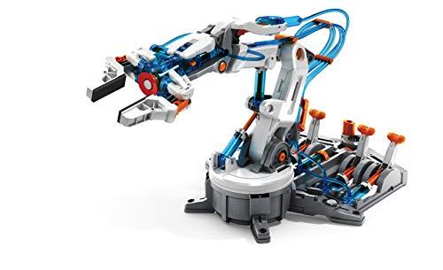 "41UC1eRdT5L - Elenco Teach Tech ""Mech-5"", Programmable Mechanical Robot Coding Kit, STEM Building Toy for Kids 10+"