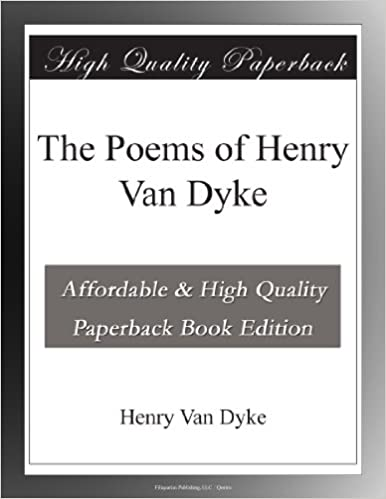 Book The Poems of Henry Van Dyke