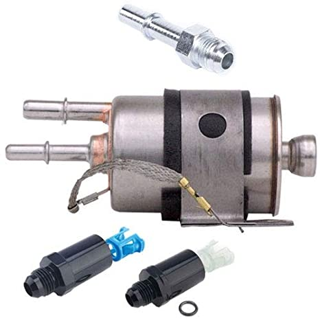 amazon com: jegs 14410k fuel filter kit ls swap includes: (1) bypass fuel  filter (3) fuel in: automotive