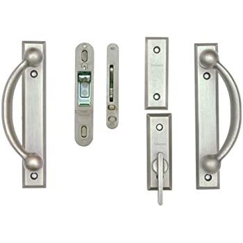Andersen Estate Newbury Gliding Patio Door Hardware Satin