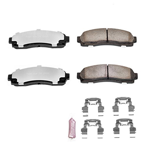Power Stop Z36-833, Z36 Truck & Tow Carbon-Fiber Ceramic Front Brake Pads