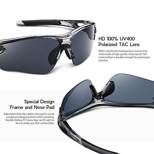 Polarized Sports Sunglasses for Men Women Youth Baseball Fishing Cycling Running Golf Motorcycle Tac Glasses UV400
